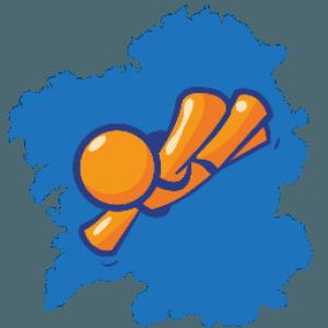 mapa paracaidismo galicia