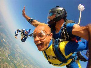 paracaidismo coruña skydive