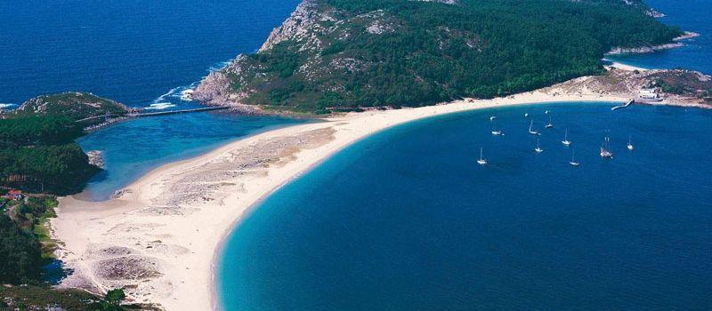 Paracaidismo Galicia Islas Cies